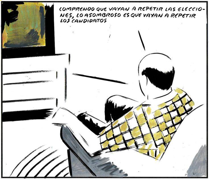 Viñeta de El Roto del 28 de abril de 2016.