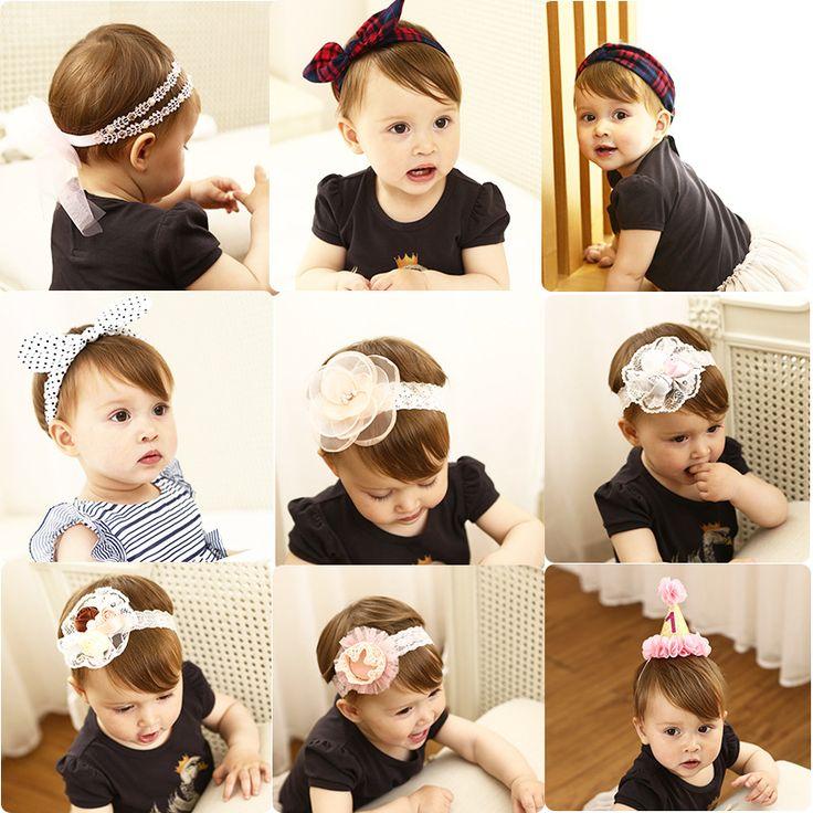>> Click to Buy << Lovely Girls Rabbit Ears Headband flower turban Bowknot Hair Band handmade cotton hair ribbons headdress kids Hair Accessories #Affiliate