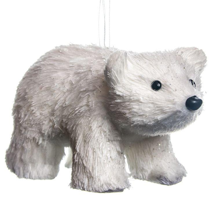 Polar Bear Ornament   Woodland Christmas   Cracker Barrel Old Country Store - Cracker Barrel Old Country Store