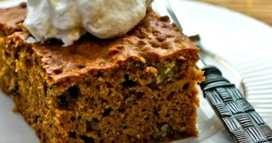 Low Sugar and Whole Wheat Apple-Pear Cake with Cinnamon and Pecans is a healthy cake made with white whole wheat flour, apples, pears, Stevi...