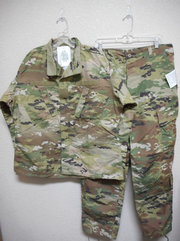 NWT SCORPION W2 OCP ARMY COMBAT UNIFORM SET(JACKET & PANTS), LARGE REGULAR