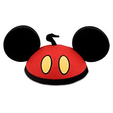 Personalizable Red Pants Mickey Mouse Ear Hat
