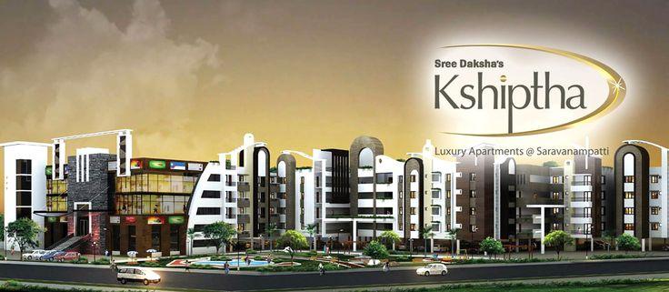SreeDaksha's Kshiptha - Luxury apartments for sale @ Saravanampatty, Coimbatore
