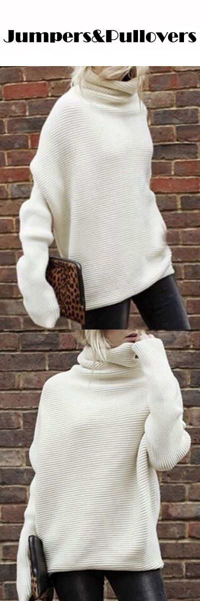 Girls always need one more chic sweater for cold weatter ^^