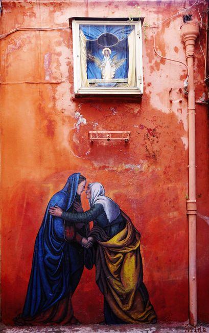 Piece By Zilda - Naples (Italy) http://restreet.altervista.org/le-figure-rinascimentali-di-zilda/