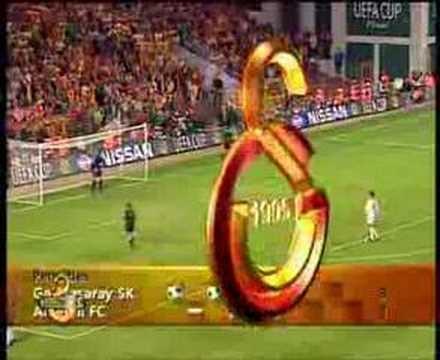 Galatasaray-Arsenal Uefa Cup Final / Penalties
