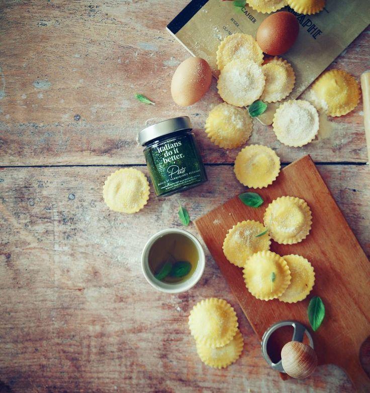 Atelier pasta maison pour accompagner la nouvelle gamme de sauces (très très bonnes) de @monoprix Italians do it better