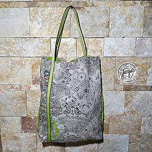 Veľké tašky - Lezecká kabelka - do zelena - 4754479_