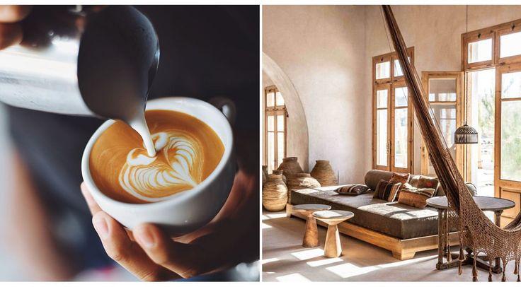 CAPPUCCINO CREMOSO  Hay quienes prefieren una textura aterciopelada que suaviza su sabor. En decoración se emplean texturas gustosas para lograr un look suave que invita al relax. Café, café | Ventas en Westwing