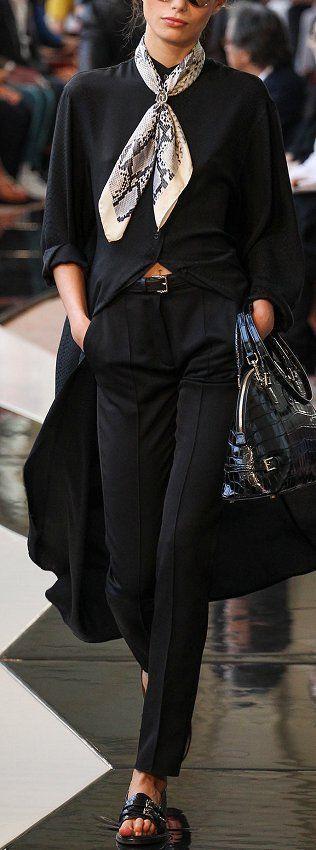 Trussardi Fashion Show Details