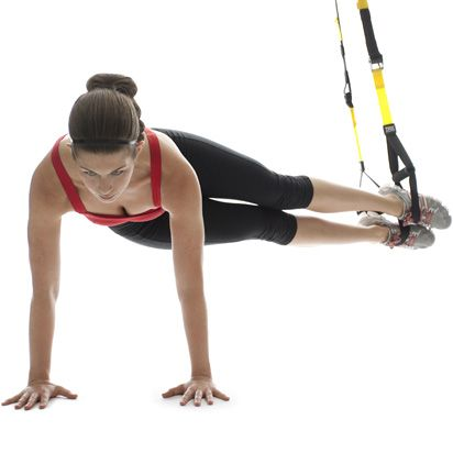 TRX. One of my favourite classes.