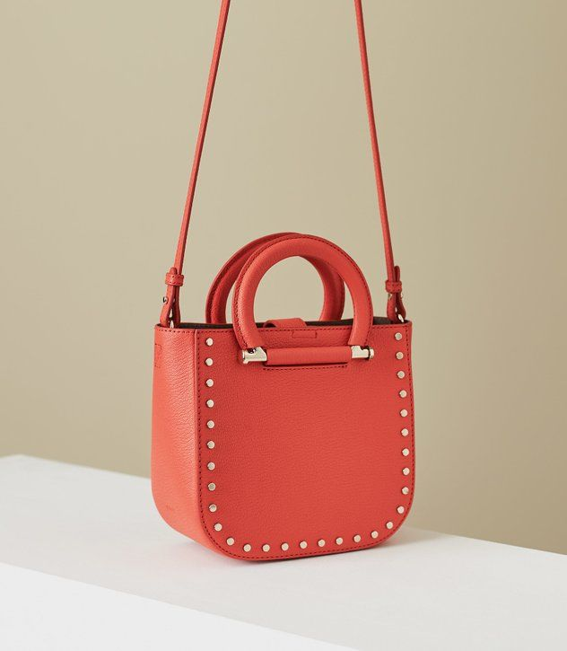 REISS - MAYFAIR MINI LEATHER TOTE