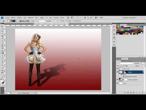 Como hacer sombras en Photoshop