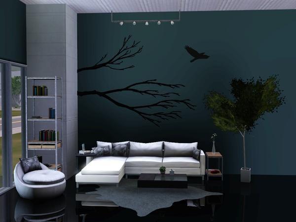 Sim man123 39 s skylar living room sims 3 design for Room design simulator free