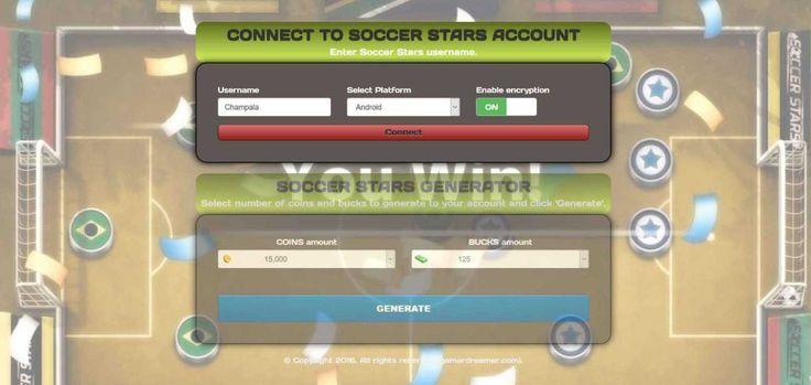 Soccer Stars Cheats Tool