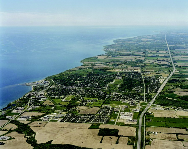 Port Hope... as far as the eye can see.