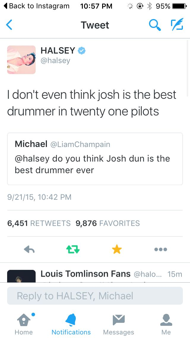 """This is exactly the same as when John Lennon was asked if Ringo was the best drummer in the world, to which he replied """"Ringo isn't even the best drummer in The Beatles."""" Hmmmm"""
