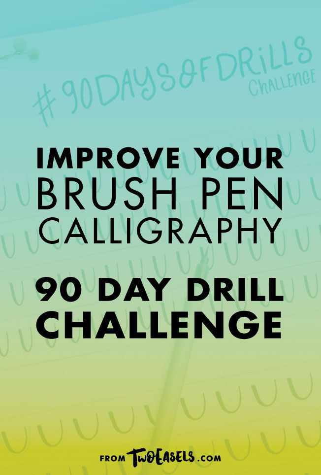 No more shaky lines No more thick upstrokes No more uneven looking letters No more doubts Take your brush calligraphy to a new level with this 90-day challenge. This FREE 90-day challenge is perfect for those who want to improve their modern brush calligraphy, gain confidence and be on their way to achieving those lettering dreams.