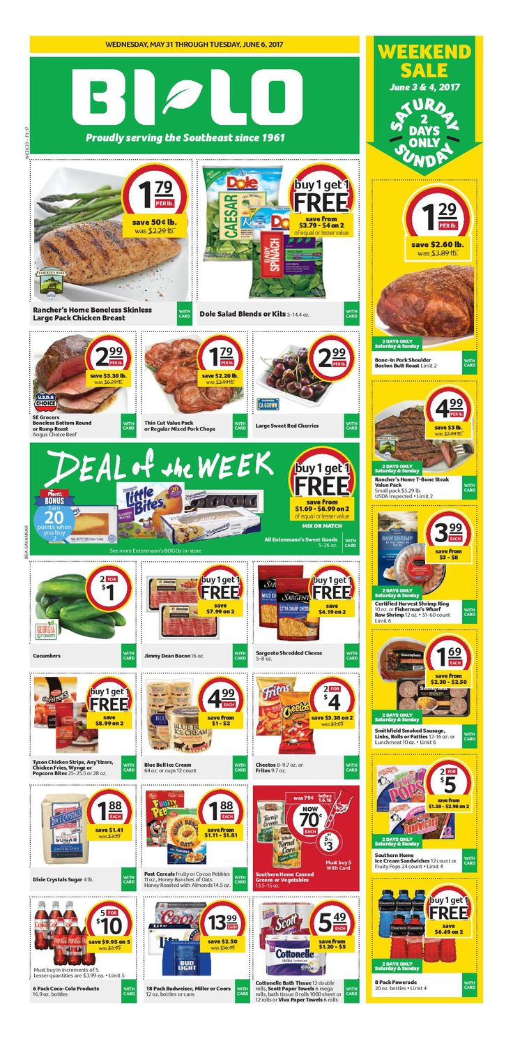 Bilo Weekly Ad May 31 – June 6, 2017 – Bilo, Grocery weekly circular comes on the scene almost once a week but frequently people see the Bilo, Grocery ad and they are generally quick to throw it out. Checking the ads each week and clipping out of coupons that can come within the weekly circular ad can often be an incredibly rewarding experience. Bilo, Grocery regularly includes coupons which will equate his almost as much as 50% off your purchase. Because of this