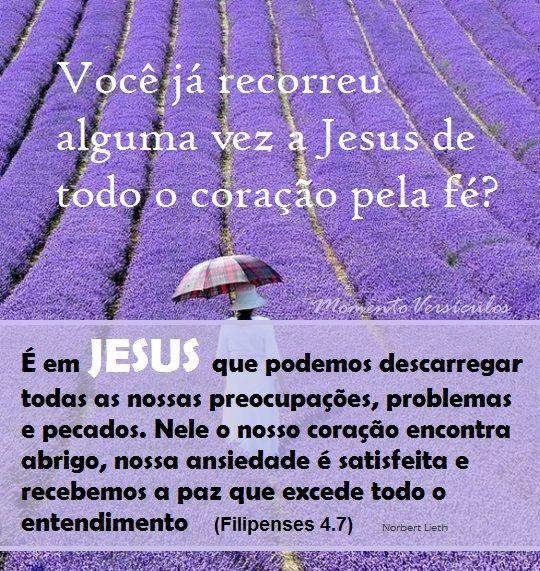Jesus é nosso abrigo
