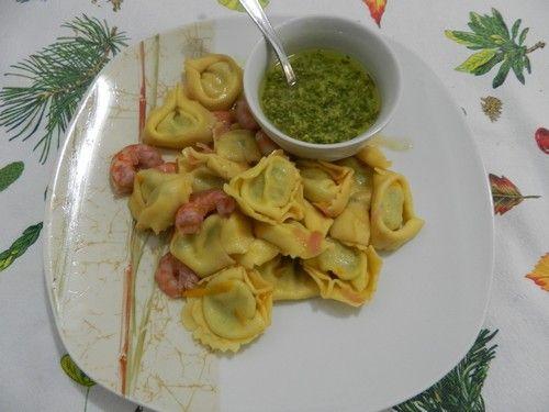 Tortelli agli agrumi e salsa alla menta