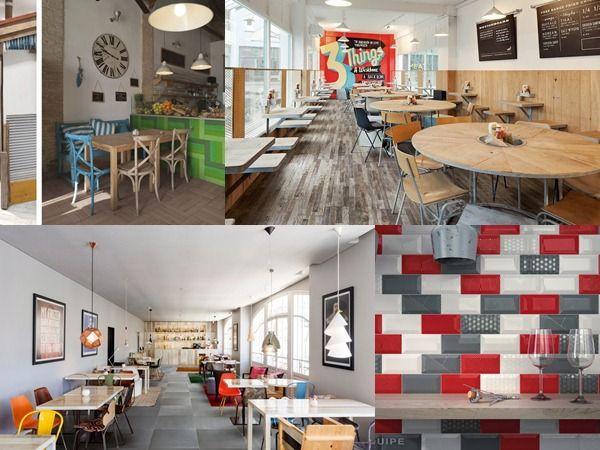Mejores 16 im genes de suelos y paredes restaurantes - Suelos para bares ...
