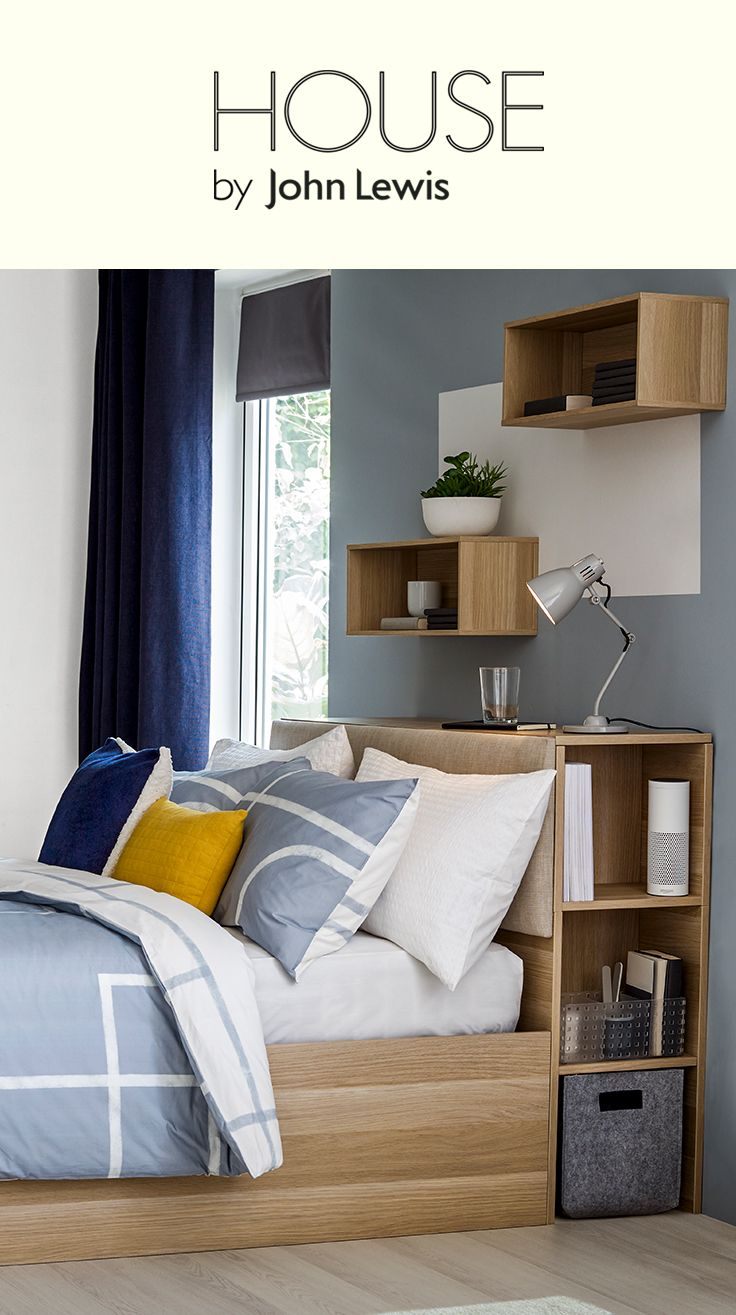 Flexible and multifunctional, House by John Lewis is designed to be at the heart of the contemporary home and to fit the way you live. We've designed key pieces with flexibility in mind to help you make the most of your space. Contemporary storage solutions find a home in beds thanks to the Super Storage bed frame.