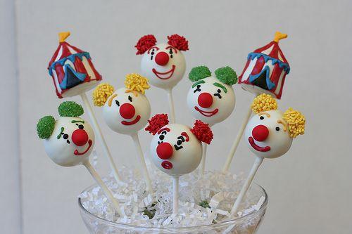 Circus Cake Pop Assortment