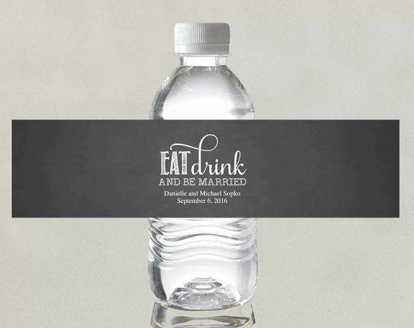 Free Bottle Labels Template Elegant 14 Wedding Water Bottle Label Templates Psd Water Bottle Labels Wedding Bottle Label Template Water Bottle Labels Template