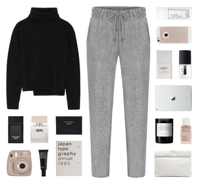 """""""home"""" by kiiaa ❤ liked on Polyvore featuring Tom Ford, Bella Freud, Nails Inc., Proenza Schouler, NARS Cosmetics, Byredo, Korres, Marie Turnor, Acne Studios and Make"""