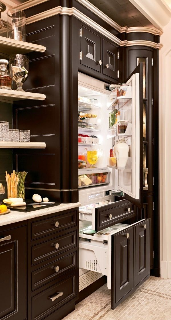 built in cabinet with custom fridge for the house awesome i need p. Black Bedroom Furniture Sets. Home Design Ideas