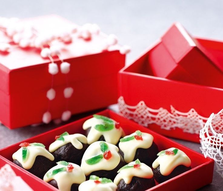 These Bonbons Are Almost Alarmingly Easy I Was Inspired By A Picture I Saw In The Au Cake Recipe Using Cups Christmas Cake Recipes Fruit Cake Recipe Christmas