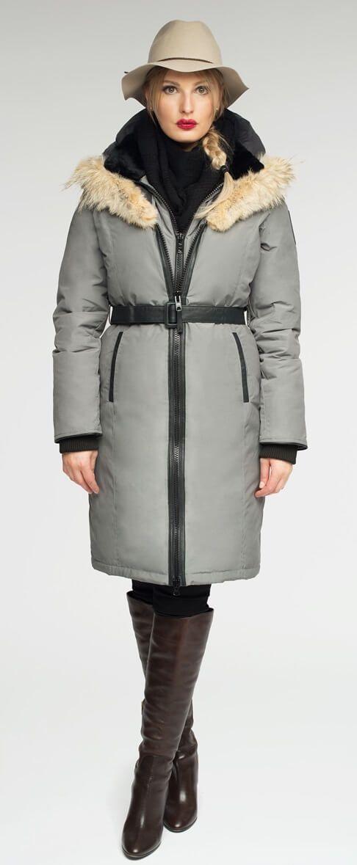 Regina parka Grey | Made in Canada | Arctic Bay ®