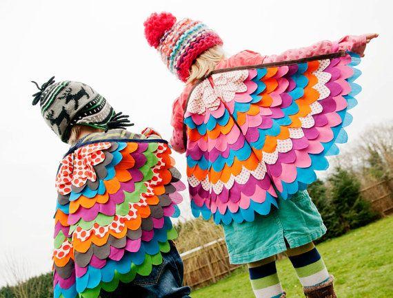 Dress up birdy wings #Oobibaby