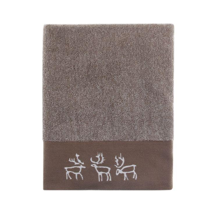 Pentik Saaga Brown Bath Towel
