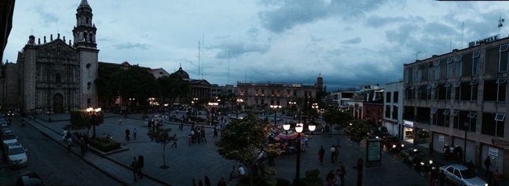Plaza del Carmen, San Luis Potosí #viverosbiomaya #turismo