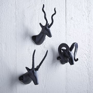 Horned Animal Hooks #westelm