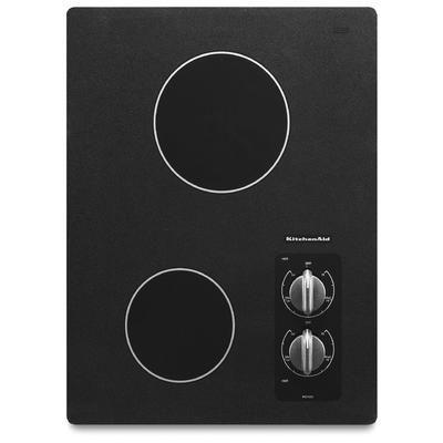 848$ - KitchenAid - Table de cuisson électrique Architect série II 15 po, 2 éléments - KECC056RBL - KICU540BSS - Home Depot Canada
