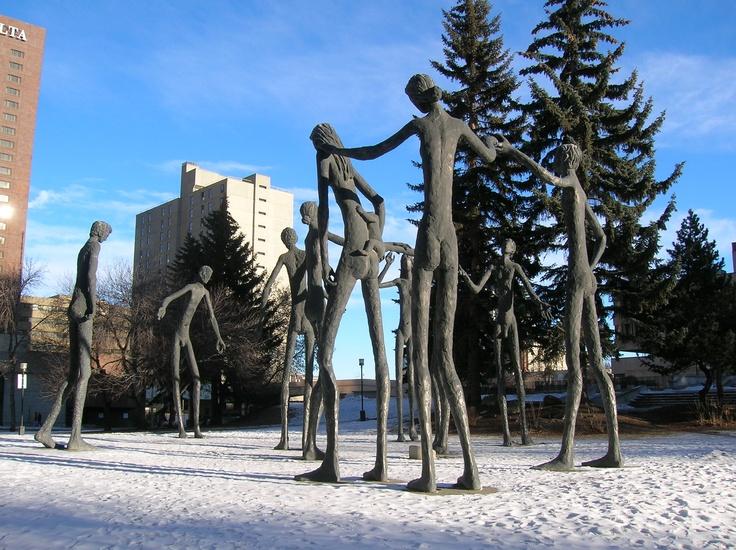 Calgary - A Tree of Man.