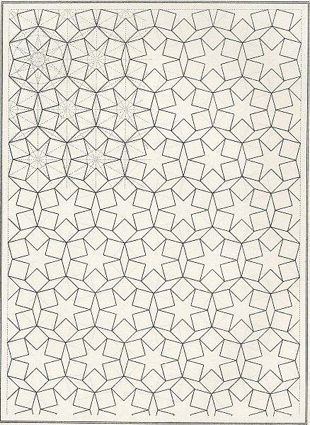 BOU 013 : Les éléments de l'art arabe, Joules Bourgoin | Pattern in Islamic Art