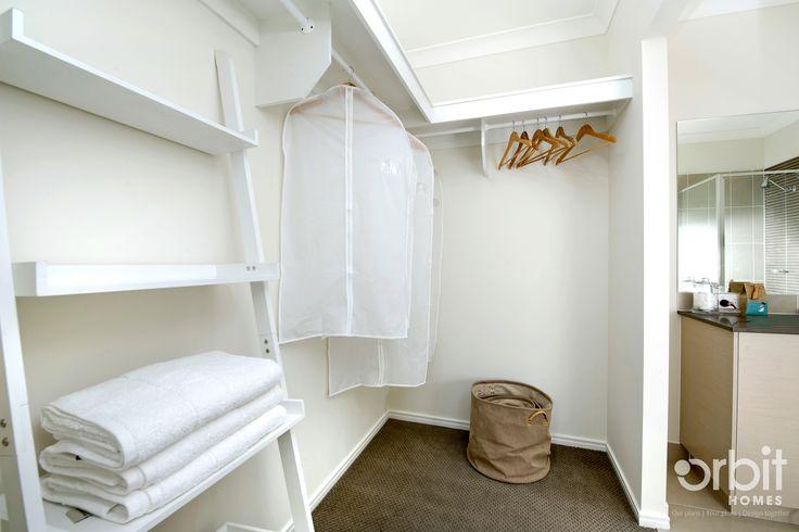 The walk in robe in the master bedroom hosts plenty of storage