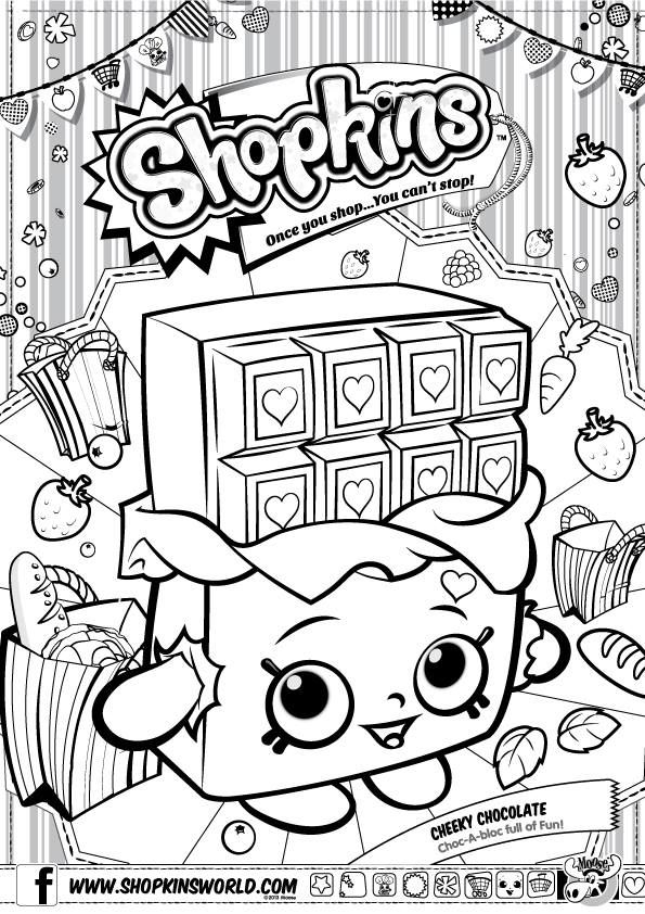 Find This Pin And More On Love To Color By Mollswebb Shopkins Colour Page