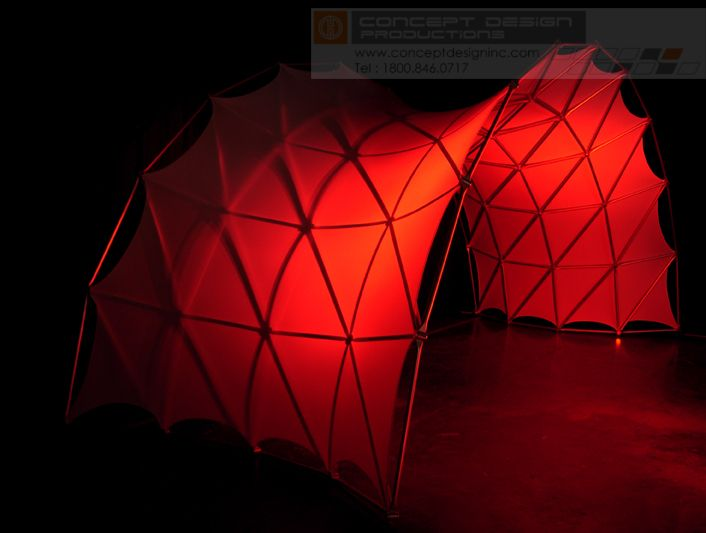 Make an impact with this bold new product! The Space Arch is a modern modular aluminum structure that can be used as a sweeping space delineation, tunnel entryway, wraparound graphic display, or even a stage set centerpiece! Available with stretched fabric facing creating endless looks and lighting possibilities. #design #events #corporate #staging #liveevents #liveshow #production  #eventplanning #event #creative #custom  #branding #logo #brand #modular