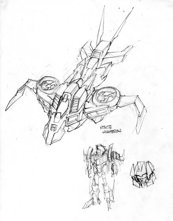 Transformers News: Alex Milne IDW Transformers Character Models: Highbrow, Holomatter Avatar Whirl