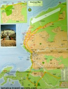Montego Bay Jamaica Map | Road Maps for the Second City