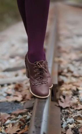 Brown Lace Oxfords ♥ SO cUte!
