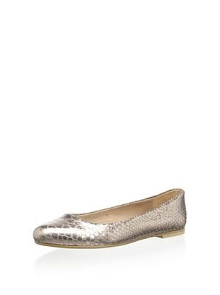 50% OFF Nina Women's Peppy Printed Flat (Rose Gold Python Print)