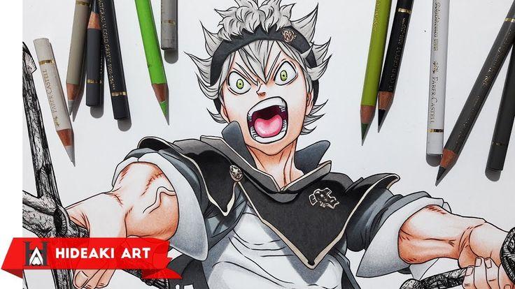 Speed Drawing Asta    Black Clover