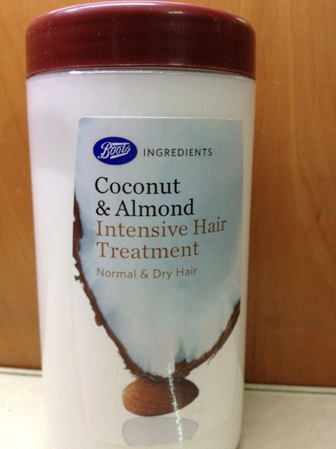 #Boots #CoconutAlmond #Intensive #Hair #Treatment #review #price and details on the blog