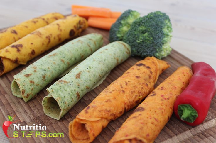 COLOURFUL FUN HEALTHY VEGETABLE WRAP'S – RED PEPPER, BROCCOLI, CARROT – GLUTEN FREE, VEGAN.